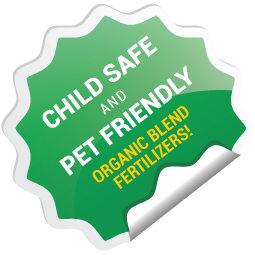 Child Safe and Pet Friendly Organic Blended Fertilizers